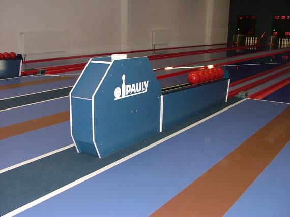 Pauly Kegelbahnen, Bowlingbahnen