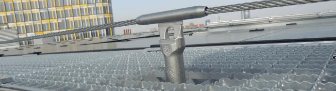 Sicherungssysteme für Arbeiten in der Höhe